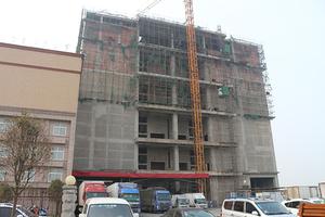 建设中的仓库大楼
